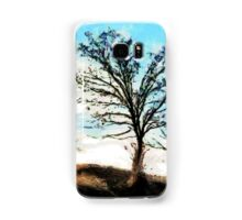 A digital painting of Trees in a Gale Samsung Galaxy Case/Skin