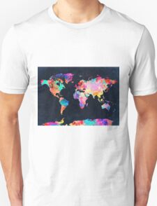 World Map watercolor 2 T-Shirt