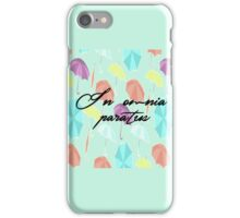 gilmore girls-in omnia paratus iPhone Case/Skin