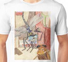 Detective Dragonfly Sir Humphrey Meets Cockroach Desiree Unisex T-Shirt