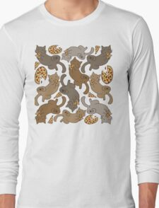 Pizza Cat Long Sleeve T-Shirt