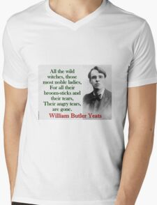 All The Wild Witches - Yeats Mens V-Neck T-Shirt