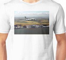 White cliffs Vulcan  Unisex T-Shirt