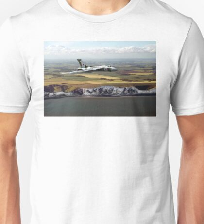 White cliffs Vulcan  Unisex T-Shirt