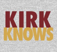 Kirk Knows DC Redskins Cousins Football by AiReal Apparel by airealapparel