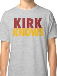 Kirk Knows DC Redskins Cousins Football by AiReal Apparel Classic T-Shirt