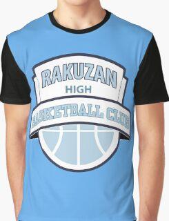 Rakuzan High - Basketball Club Logo Graphic T-Shirt