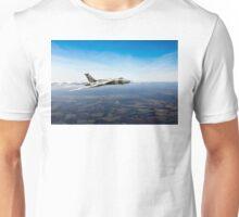 Vulcan in flight 2 Unisex T-Shirt