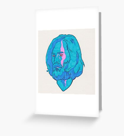 Charles Manson Greeting Card