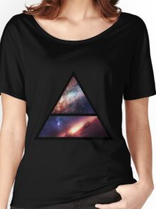 30 Seconds to Mars space logo Women's Relaxed Fit T-Shirt