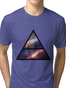 30 Seconds to Mars space logo Tri-blend T-Shirt