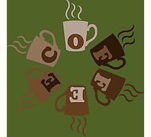 COFFEECUPLOADING Photographic Print