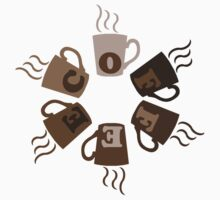 COFFEECUPLOADING One Piece - Short Sleeve
