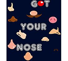 Got Your Nose Photographic Print