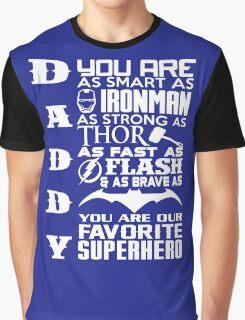 Daddy - Superhero Graphic T-Shirt