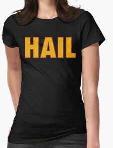 HAIL HTTR Redskins DC by AiReal Apparel Womens Fitted T-Shirt