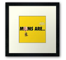 charlie brown moms are the peanuts movie Framed Print