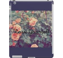 Love Yourself PURPOSE Justin Bieber iPad Case/Skin