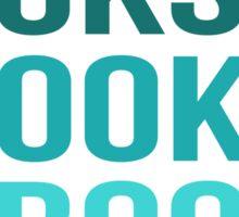 Books Books Books Sticker