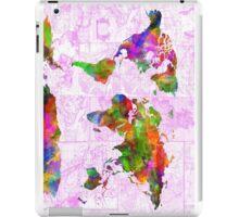 world map collage 2 iPad Case/Skin