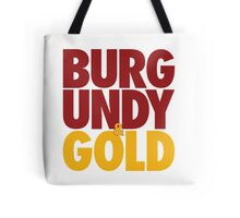 Burgundy & Gold Redskins DC Football by AiReal Apparel Tote Bag