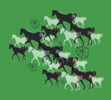 Horses Kids Tee