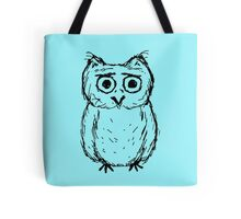 Concerned Owl Tote Bag