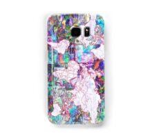 world map collage 3 Samsung Galaxy Case/Skin