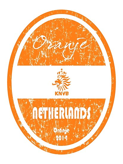 World Cup Football - Netherlands (Distressed) by madeofthoughts