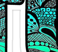 TU Doodle Sticker