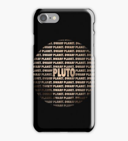 Pluto - Dwarf Planet iPhone Case/Skin