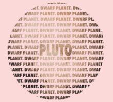 Pluto - Dwarf Planet One Piece - Long Sleeve