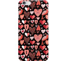 pattern of bright hearts iPhone Case/Skin