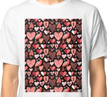 pattern of bright hearts Classic T-Shirt