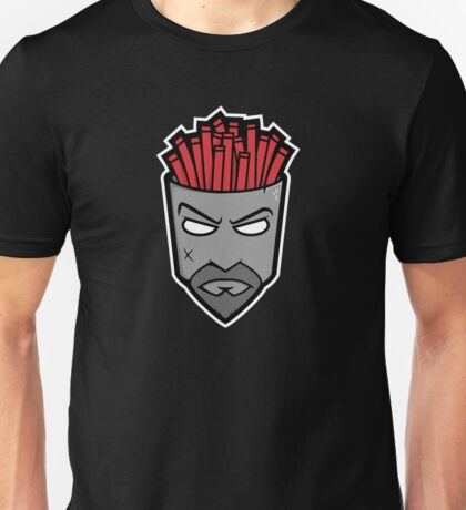 Fryman - Grey and Red Unisex T-Shirt