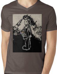 sinister bunny Mens V-Neck T-Shirt