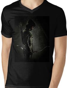 Green arrow TV Mens V-Neck T-Shirt