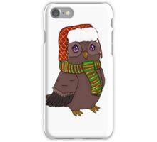 Snow Bundled Owl iPhone Case/Skin