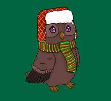 Snow Bundled Owl Unisex T-Shirt