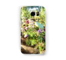 Flower Memorial, Flow Form Fountain Samsung Galaxy Case/Skin