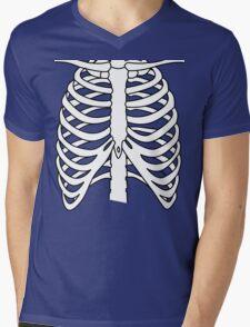 X-ray Chest Mens V-Neck T-Shirt