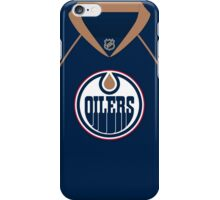 Edmonton Oilers 2007-09 Home Jersey iPhone Case/Skin