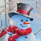 Snowman in the Woods by Susan S. Kline