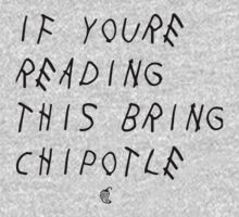 If your reading this bring chipotle One Piece - Short Sleeve