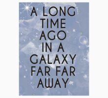 A Long Time Ago in A Galaxy Far Far Away... One Piece - Short Sleeve