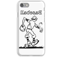 Lefty Baseball iPhone Case/Skin