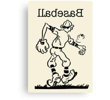 Lefty Baseball Canvas Print