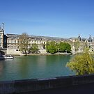 Alongside the Louvre by CiaoBella