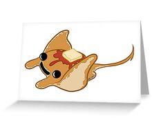 Sea Pancake Greeting Card