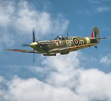 Spitfire in The Clouds by SWEEPER